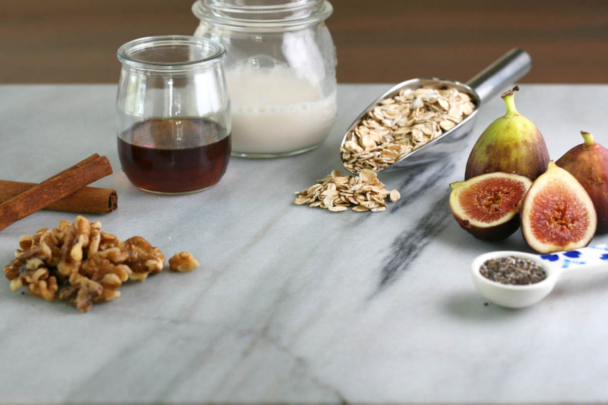 Ingredients: Walnuts, Fig, Cinnamon, Almond Milk, Maple Syrup